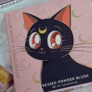 """Colourpop Makeup - 🌙 Sailor Moon """"Cats Eye"""" Blush Compact 🌙"""